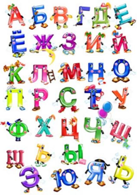 Анимация картинки алфавит